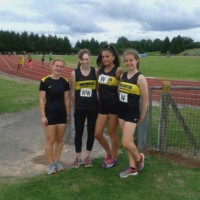 4 X100 Relay Ella Popowicz Holly Pilkington Lucy Spurrier Lottie Thorington